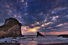 雀の夫婦岩