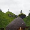 興味引く 異国思わす 屋根造り