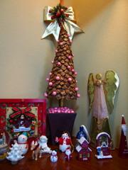 クリスマス 我家の天使も 飾られて