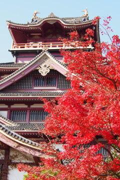 伏見城 撮らずにおれぬ 秋景色