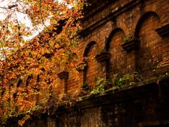 晩秋の古都