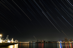 造船所に掛かる星々