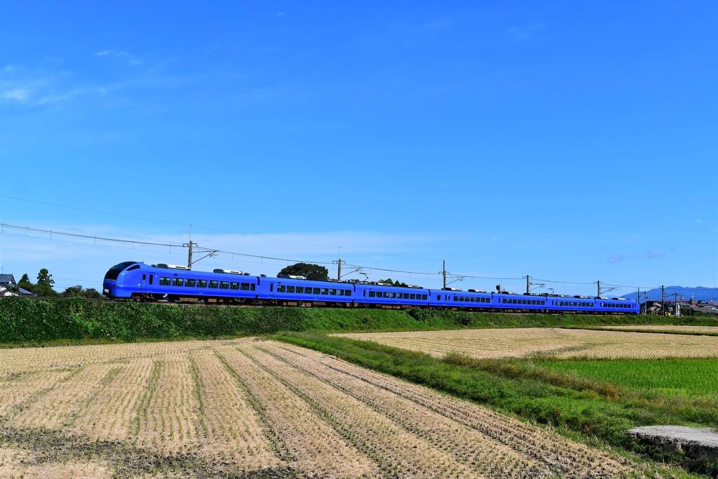 ショッキングブルーの弾丸列車