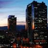 Sunset Sky building