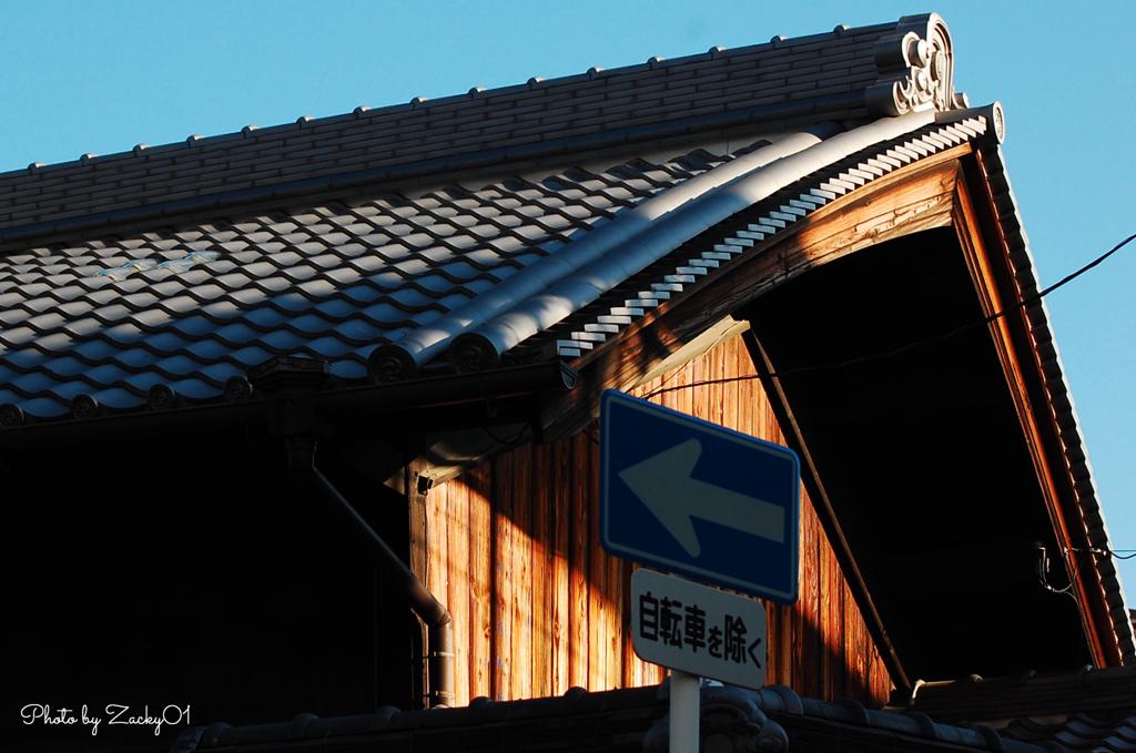 屋根のふくらみ