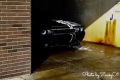 洗車場での1シーン