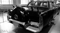 """""""Kennedy car"""" rear view"""