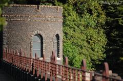河内貯水池堰堤取水塔