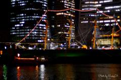 帆船飾るネックレス
