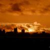 コロナの夕陽