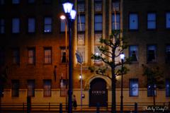 LE PONT DE CIELの夜道