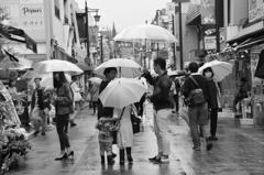 たまには雨の日も・・・