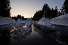 Snow maze ①
