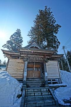 熊野神社 十日町市仁田