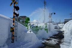 飯山線 除雪車両