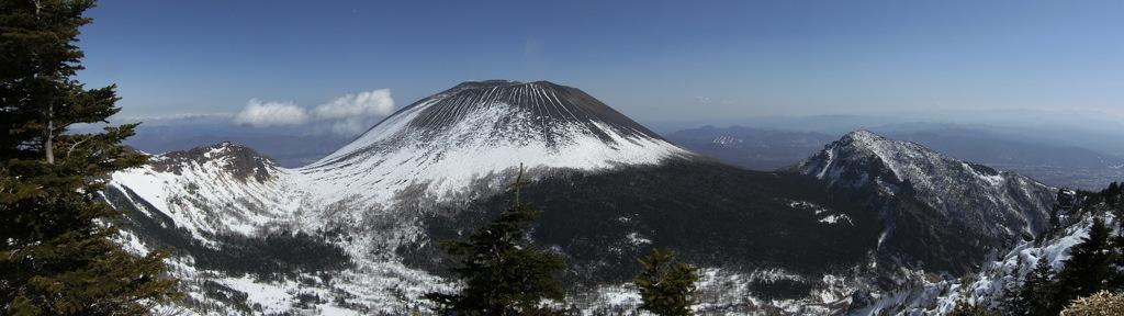 浅間山一帯