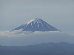金峰山からの富士山アップ