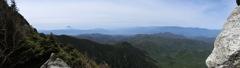 パノラマ 金峰山
