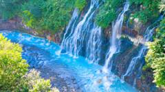 白ひげの滝