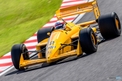 """Yellow"" LOTUS HONDA 100T"