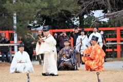 武射神事 上賀茂神社