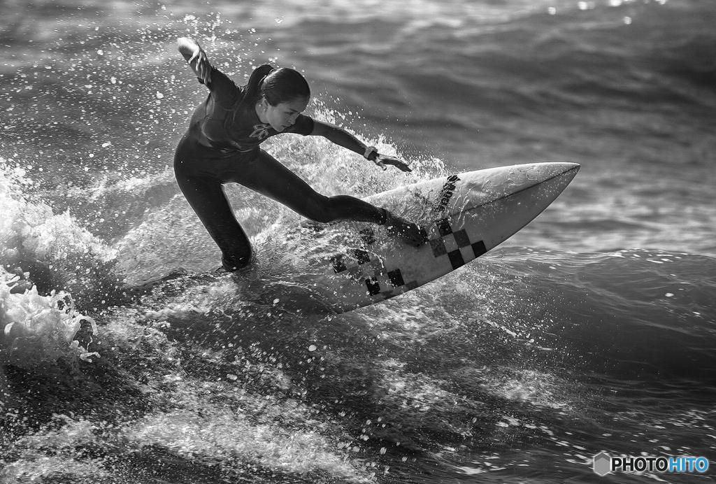 Surfing ~Fujisawa katase coast~