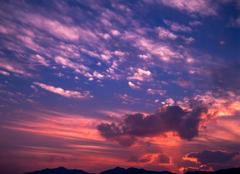 東広島の夕景