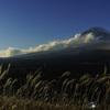 秋の夜長の富士鑑賞