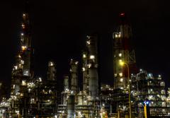 Kashima Oil Refinery Factory