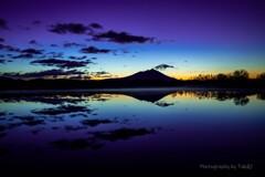 筑波山の朝