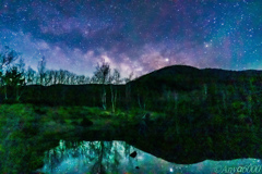 Pond and Milky Way again Part1