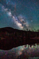 Pond and Milky Way again Part2