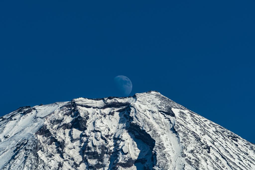 昼間のパール富士