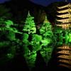 水面に映る金色の寺