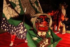 夜神楽ー獅子舞2