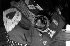 夜神楽ー獅子舞3