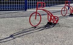 乗れない自転車