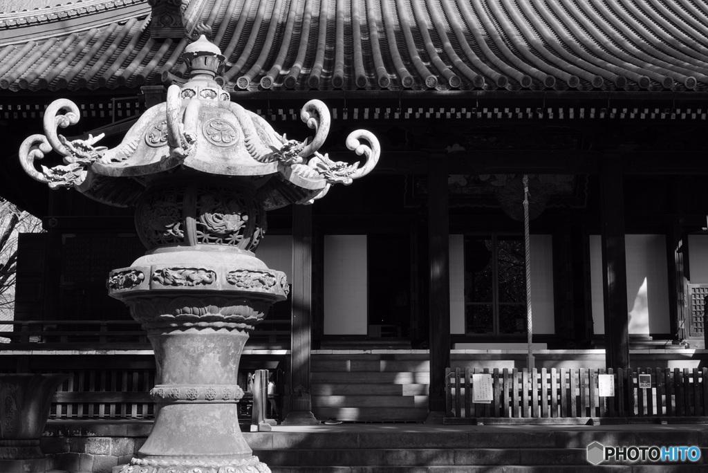 東叡山寛永寺 銅燈篭
