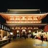 雨上がりの浅草寺宝蔵門