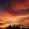 夕焼け雲 投稿500枚目のアニバサーリー
