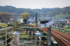鉄橋を渡れば戸綿駅