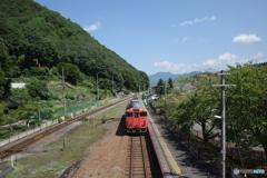 竹田駅にてキハ40