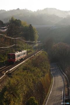 九度山駅にて2300系