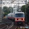 北野田駅にて特急りんかん