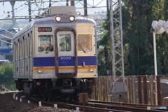 河内長野駅前にて南海6000系
