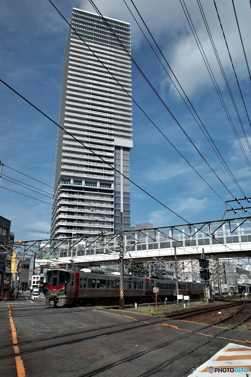 発展する広島