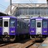 亀山駅にてダブルキハ120