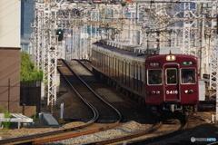 十三駅にて5300系