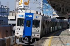 深井駅にて泉北高速鉄道3000系