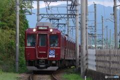 田原本線を走る8400系